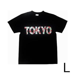Robin Ruth  フラワーロゴ T-Shirts (TOKYO) L