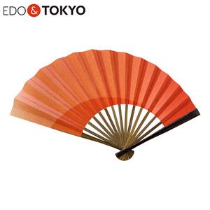 EDO & TOKYO 江戸扇子 グラデーション 茜