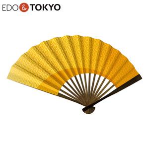 EDO & TOKYO Edo Folding Fan Gradation Shoko (Kuchinashi)