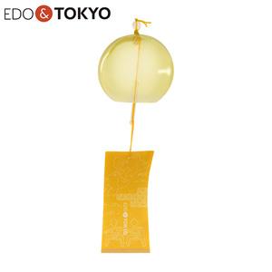 EDO & TOKYO 江戸風鈴 彩(IRODORI) 紋柄短冊 支子 (くちなし)