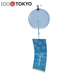 EDO & TOKYO 江戶風鈴 彩(IRODORI) 紋柄短冊 縹