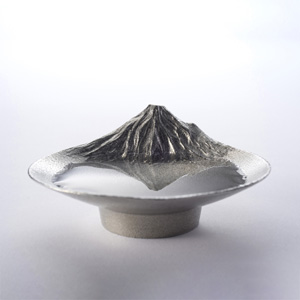 Gin Gado Mt. Fuji Reflection Tin Sake Cup
