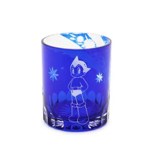 江戶硝子 切子玻璃杯 原子小金剛 (琉璃色)