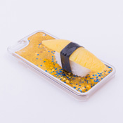 iPhone 6/6S Case Food Sample, Sushi, Herring Roe (Small) Sparkling Yellow