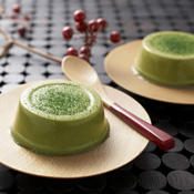 Ito Kyuemon Uji Matcha Pudding Hikitate, 4-Pieces