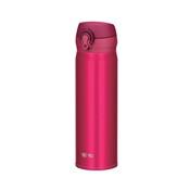 Vacuum Insulation Portable Mug Bottle, 500ml (Strawberry Red)