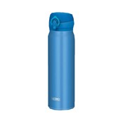 Vacuum Insulation Portable Mug Bottle, 600ml (Metallic Blue)