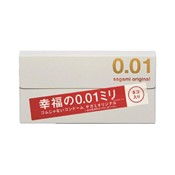 Sagami Original 0.01 Happiness 0.01mm, 5-Pack