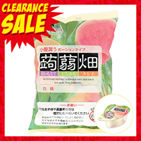 MannanLife Konjac Jelly, White Peach Flavor