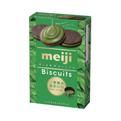 Meiji Rich Matcha Tea Biscuits