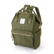 Anello Backpack  (Green-Brown)