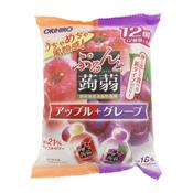 Jiggly Konjac Jelly Pouch Apple + Grape