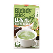 Blendy Matcha Tea Au Lait, 7 Sticks