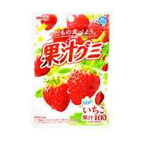 Fruit Juice Gummi, Strawberry