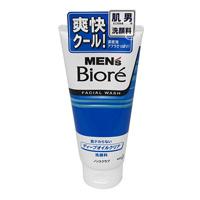 Men's Biore Deep Oil Clear Face Wash