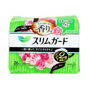花王蕾妮亚 超薄防护 玫瑰清香 日用量多 有翅膀