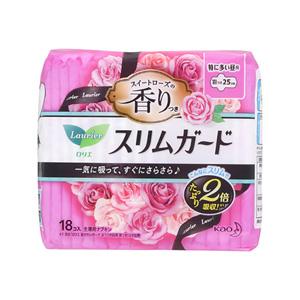 花王蕾妮亚 超薄防护 玫瑰清香 长时间 日用量多