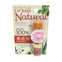 Mentholatum Lip Baby Natural, Pure Honey Aroma