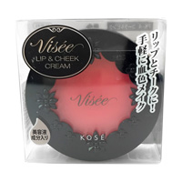 Visee Riche, Lip & Cheek Cream, Coral Pink, PK-4