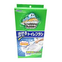 Scrubbing Bubbles Shut, Flushable Toilet Brush, Main Item