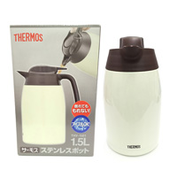 Thermos, Stainless Steel Pot, 1.5L, Cookie Cream