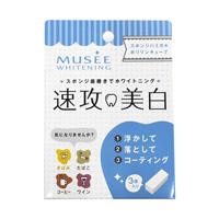 MUSEE 스폰지 칫솔 폴리인 큐브 속공미백