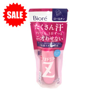 Biore Medicated Deodorant Z, Roll-On, Soap Fragrance