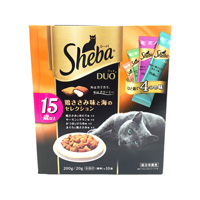 Sheba Duo, For Cats 15 & Older, Chicken Fillet Flavor & Sea Selection