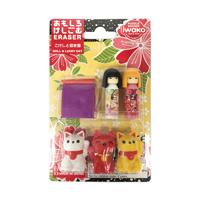 Blister Eraser, Kokeshi & Maneki Neko