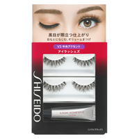 SHISEIDO EYE LASHES V3(False eyelashes 2set,Glue 3.3g)