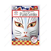 Good Luck Charm Nippon Art Mask, Lovely Fox