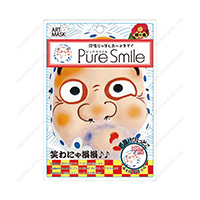 Good Luck Charm Nippon Art Mask, Hyottoko Luck Charm