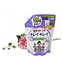 Lion Kirei Kirei Medicated Foam Hand Soap, Refill, Gentle Floral Soap Fragrance