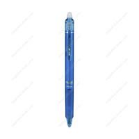 PILOT Frixion Ball Knock, 0.5mm, Erasable Ballpoint Pen, Light Blue