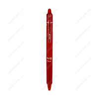 PILOT Frixion Ball Knock, 0.7mm, Erasable Ballpoint Pen, Red
