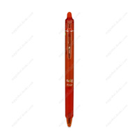 PILOT Frixion Ball Knock, 0.7mm, Erasable Ballpoint Pen, Orange