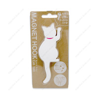 Magnet Hook, Cat Tail, 1 White