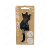 Magnet Hook, Cat Tail, 2 Black