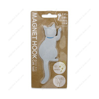 Magnet Hook, Cat Tail, 3 Gray