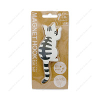 Magnet Hook, Cat Tail, 6 Brown Tabby