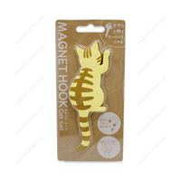 Magnet Hook, Cat Tail, 5 Red Tabby
