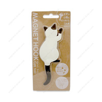 Magnet Hook, Cat Tail, 4 Siamese