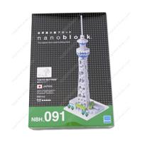 nanoblock Tokyo Skytree NBH-91
