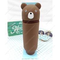PuniLabo Standing Pencil Case, Bear