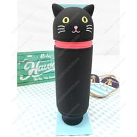 PuniLabo Standing Pencil Case, Black Cat