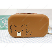 PuniLabo Zipper Pouch, Bear