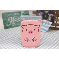 PuniLabo Slit Pouch, Pig