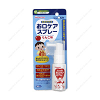 Wakodo Nicopica Mouth Care Spray, Apple Flavor
