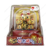 Solar Gold Lucky Maneki Neko