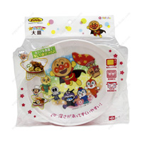 Anpanman Kids' Tableware, Large Plate